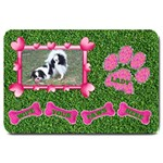 Lady Dog large door mat - Large Doormat