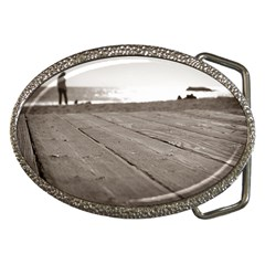 Laguna Beach Walk Belt Buckle (oval) by hlehnerer
