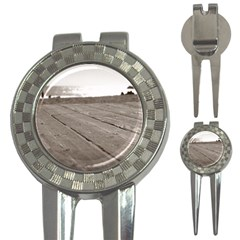 Laguna Beach Walk Golf Pitchfork & Ball Marker by hlehnerer