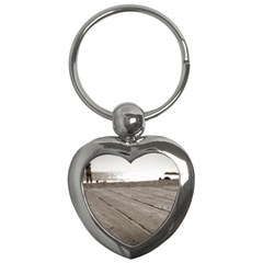 Laguna Beach Walk Key Chain (heart) by hlehnerer