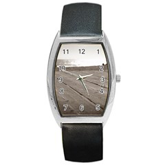 Laguna Beach Walk Tonneau Leather Watch by hlehnerer