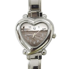 Laguna Beach Walk Heart Italian Charm Watch  by hlehnerer