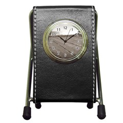 Laguna Beach Walk Stationery Holder Clock