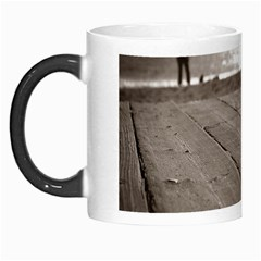 Laguna Beach Walk Morph Mug by hlehnerer