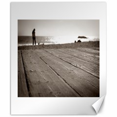 Laguna Beach Walk Canvas 20  X 24  (unframed) by hlehnerer