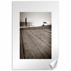 Laguna Beach Walk Canvas 20  X 30  (unframed) by hlehnerer