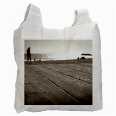 Laguna Beach Walk Recycle Bag (one Side) by hlehnerer