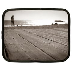 Laguna Beach Walk Netbook Case (xxl) by hlehnerer