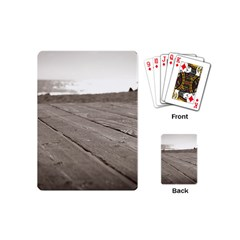 Laguna Beach Walk Playing Cards (mini) by hlehnerer