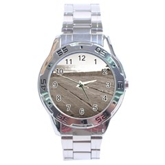 Laguna Beach Walk Stainless Steel Watch (men s) by hlehnerer