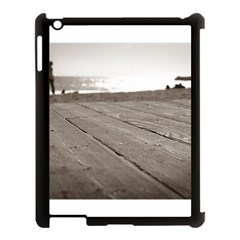 Laguna Beach Walk Apple Ipad 3/4 Case (black) by hlehnerer
