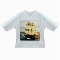French Warship Baby T Shirt by gatterwe