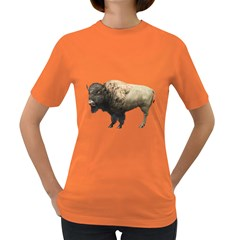 Bison Womens' T Shirt (colored)