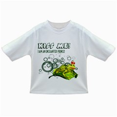 Kiss Me!  Baby T Shirt by gatterwe