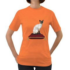 Cat 3 Womens' T Shirt (colored) by gatterwe