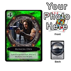 King Lost Legacy   Stargate Atlantis By Ajax   Playing Cards 54 Designs   2t9hf6o95msx   Www Artscow Com Front - DiamondK