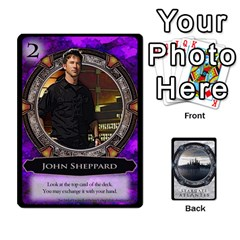 Lost Legacy   Stargate Atlantis 2  By Ajax   Playing Cards 54 Designs   U2ulq4hg9y5o   Www Artscow Com Front - Heart7