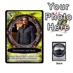 Lost Legacy   Stargate Atlantis 2  By Ajax   Playing Cards 54 Designs   U2ulq4hg9y5o   Www Artscow Com Front - Heart8