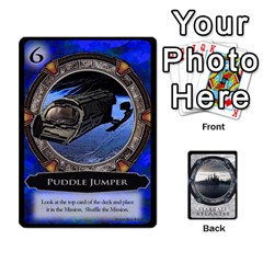 Jack Lost Legacy   Stargate Atlantis 2  By Ajax   Playing Cards 54 Designs   U2ulq4hg9y5o   Www Artscow Com Front - HeartJ