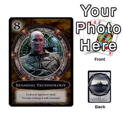 Lost Legacy   Stargate Atlantis 2  By Ajax   Playing Cards 54 Designs   U2ulq4hg9y5o   Www Artscow Com Front - Diamond4