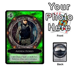 King Lost Legacy   Stargate Atlantis 2  By Ajax   Playing Cards 54 Designs   U2ulq4hg9y5o   Www Artscow Com Front - DiamondK