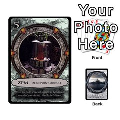Lost Legacy   Stargate Atlantis 2  By Ajax   Playing Cards 54 Designs   U2ulq4hg9y5o   Www Artscow Com Front - Spade6