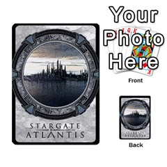 Lost Legacy   Stargate Atlantis 2  By Ajax   Playing Cards 54 Designs   U2ulq4hg9y5o   Www Artscow Com Back