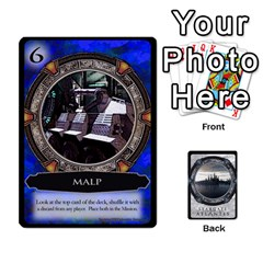 Lost Legacy   Stargate Atlantis 2  By Ajax   Playing Cards 54 Designs   U2ulq4hg9y5o   Www Artscow Com Front - Spade8