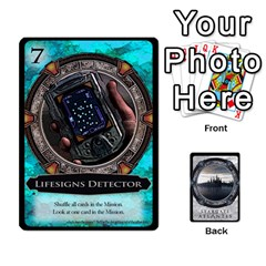 Jack Lost Legacy   Stargate Atlantis 2  By Ajax   Playing Cards 54 Designs   U2ulq4hg9y5o   Www Artscow Com Front - SpadeJ