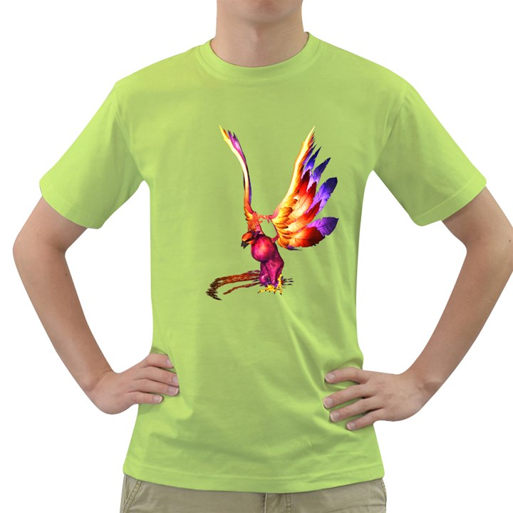 Phoenix 1 Mens  T-shirt (Green)