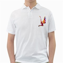 Phoenix 1 Mens  Polo Shirt (white) by gatterwe