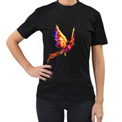 Phoenix 2 Womens' T Shirt (black) by gatterwe