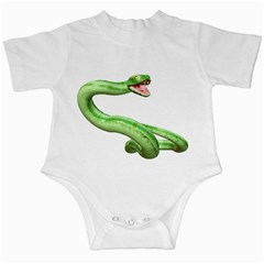Green Snake Infant Creeper by gatterwe