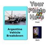 TFL IABSM Falklands Deck Argentine - Playing Cards 54 Designs