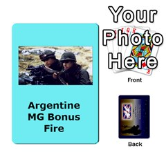 Tfl Iabsm Falklands Deck Argentine By Joe Collins   Playing Cards 54 Designs   Z9yc316d1qh6   Www Artscow Com Front - Spade3