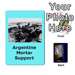 Tfl Iabsm Falklands Deck Argentine By Joe Collins   Playing Cards 54 Designs   Z9yc316d1qh6   Www Artscow Com Front - Heart2