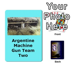 Tfl Iabsm Falklands Deck Argentine By Joe Collins   Playing Cards 54 Designs   Z9yc316d1qh6   Www Artscow Com Front - Heart6