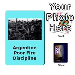 Tfl Iabsm Falklands Deck Argentine By Joe Collins   Playing Cards 54 Designs   Z9yc316d1qh6   Www Artscow Com Front - Spade4