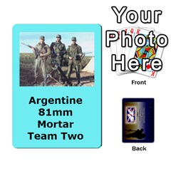 Tfl Iabsm Falklands Deck Argentine By Joe Collins   Playing Cards 54 Designs   Z9yc316d1qh6   Www Artscow Com Front - Heart9