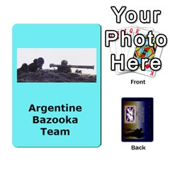 Tfl Iabsm Falklands Deck Argentine By Joe Collins   Playing Cards 54 Designs   Z9yc316d1qh6   Www Artscow Com Front - Diamond2