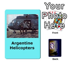 Tfl Iabsm Falklands Deck Argentine By Joe Collins   Playing Cards 54 Designs   Z9yc316d1qh6   Www Artscow Com Front - Diamond9