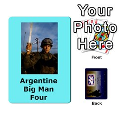 Tfl Iabsm Falklands Deck Argentine By Joe Collins   Playing Cards 54 Designs   Z9yc316d1qh6   Www Artscow Com Front - Club2