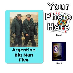 Tfl Iabsm Falklands Deck Argentine By Joe Collins   Playing Cards 54 Designs   Z9yc316d1qh6   Www Artscow Com Front - Club3