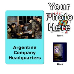 Tfl Iabsm Falklands Deck Argentine By Joe Collins   Playing Cards 54 Designs   Z9yc316d1qh6   Www Artscow Com Front - Club7