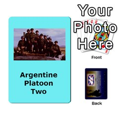Tfl Iabsm Falklands Deck Argentine By Joe Collins   Playing Cards 54 Designs   Z9yc316d1qh6   Www Artscow Com Front - Club9