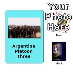 Tfl Iabsm Falklands Deck Argentine By Joe Collins   Playing Cards 54 Designs   Z9yc316d1qh6   Www Artscow Com Front - Club10