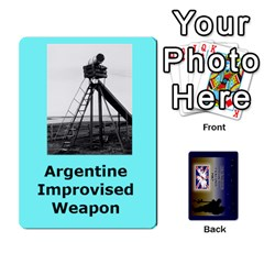 Jack Tfl Iabsm Falklands Deck Argentine By Joe Collins   Playing Cards 54 Designs   Z9yc316d1qh6   Www Artscow Com Front - ClubJ
