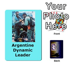 Tfl Iabsm Falklands Deck Argentine By Joe Collins   Playing Cards 54 Designs   Z9yc316d1qh6   Www Artscow Com Front - Spade7