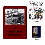 TFL IABSM Falklands Deck UK - Playing Cards 54 Designs