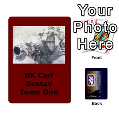 Tfl Iabsm Falklands Deck Uk By Joe Collins   Playing Cards 54 Designs   8v3ffqg6srcf   Www Artscow Com Front - Club2